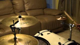 """Paiste 6"""" 2002 ACCENT cymbal (SOUND TEST)"""