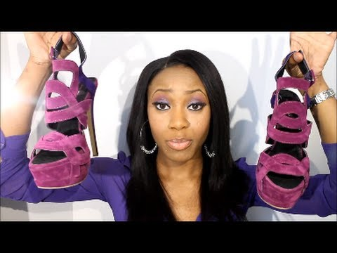 Spring Shoe Haul | Giuseppe Zanotti & Christian Louboutin Inspired Heels | Fashion Footwear