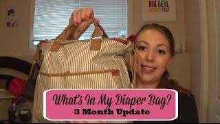 Gambar cover What's In My Diaper Bag (3 Month Update) | Maggie Marsh