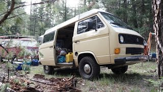 600 Miles to the Mountains in a VW and it was Awesome! Join us on the adventure...