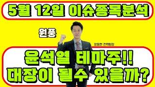 원풍(008370) - 윤석열 테마주!! 대장이 될수 …