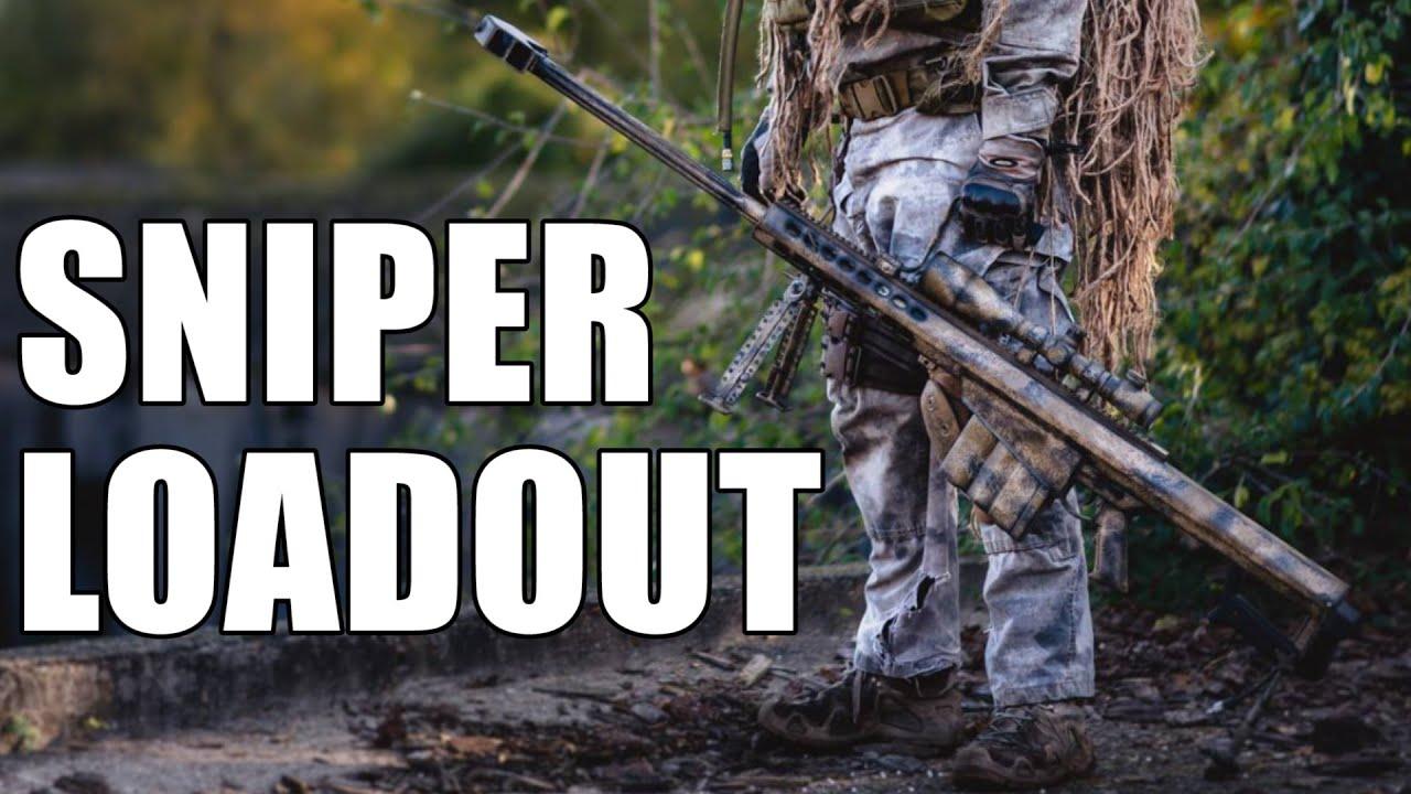 AIRSOFT | LOADOUT | TBC | Guilhom - SNIPER (Barrett M82 ... M14 Ebr Airsoft