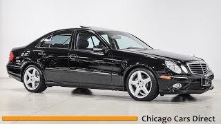 chicago cars direct reviews presents a 2008 mercedes benz e class e350 sport b263972