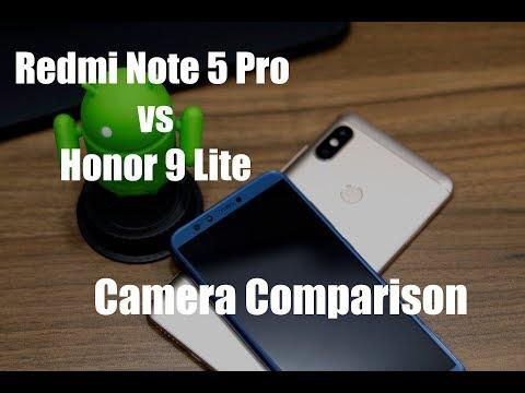 Redmi Note 5 Pro vs Honor 9 Lite Camera Comparison [Hindi]