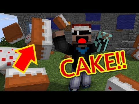 EAT ALL THE CAKE!!! | Minecraft CakeWars E:1