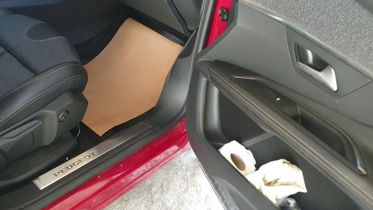 Peugeot 3008 Koltuk Minderi Egim Ayari Youtube