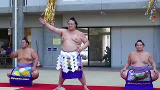 大相撲 復興横綱土俵入り 稀勢の里