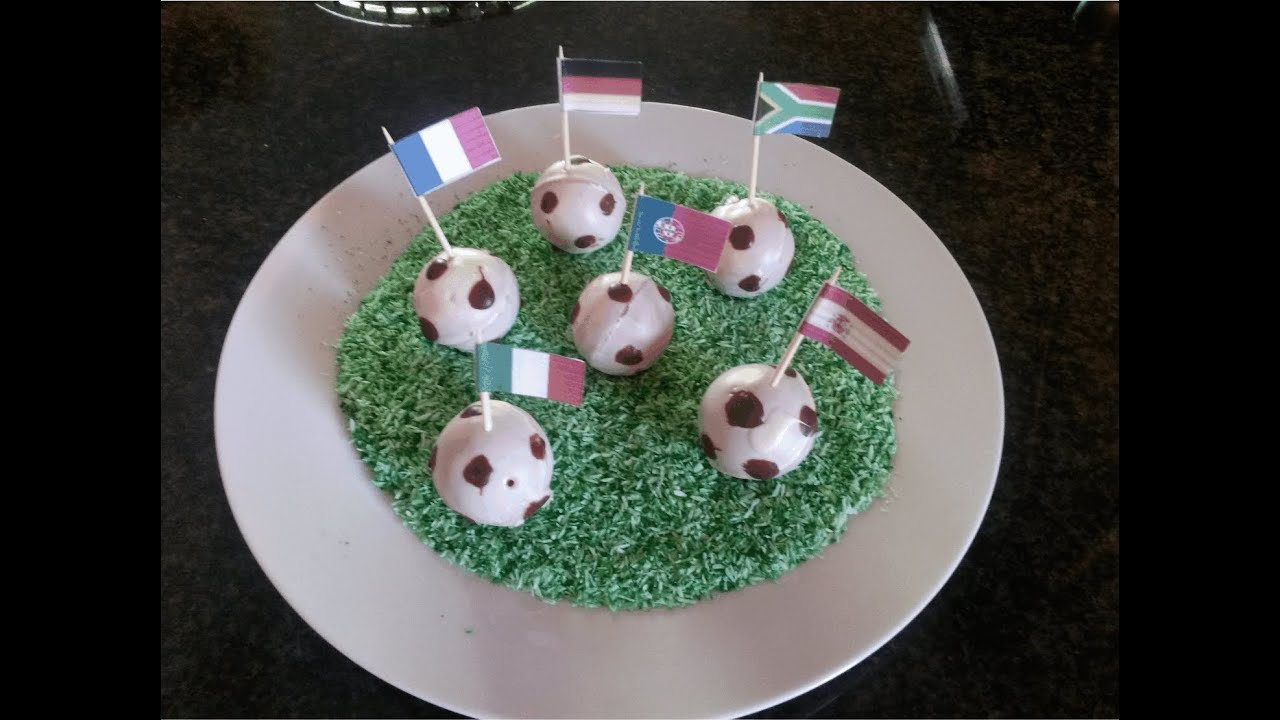 Football Cake Pops Recipe