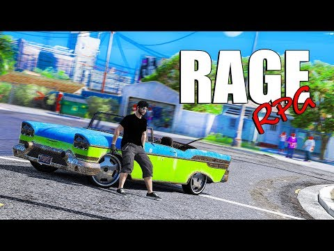 НАЧИНАЮ НОВУЮ ЖИЗНЬ НА RAGE RPG! GTA 5 RP!
