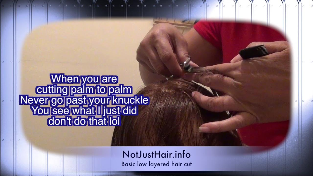 Nj State Board Cosmetology Exam Help Basic Hair Cut Youtube