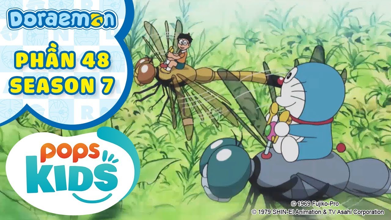 [S7] Tuyển Tập Hoạt Hình Doraemon – Phần 48 – Doraemon Từ Chức, Máy Bay Côn Trùng