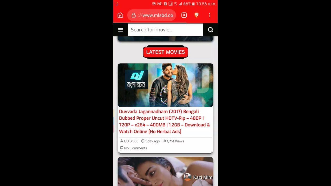 How to download movies from MLSBD (The largest Movie Link Store in  Bangladesh)