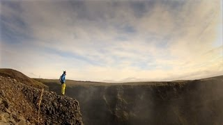 GoPro HD: Matthias Giraud – B.A.S.E. Jumping in Iceland