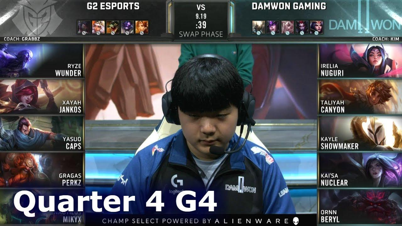 G2 Vs Damwon