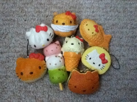 Hello Kitty Re-ment Squishies!