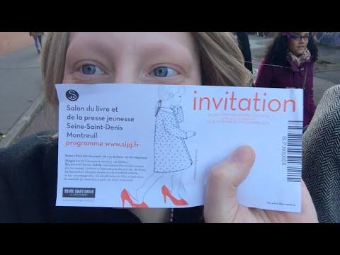 Vlog salon du livre jeunesse montreuil youtube for Salon du livre jeunesse montreuil