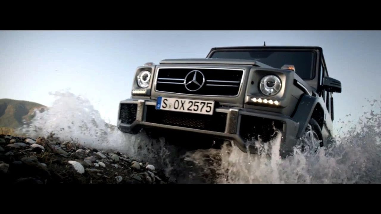 off roading in the g-class -- mercedes-benz luxury suv - youtube