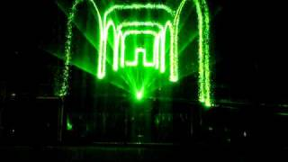 Aquacity Poprad - New 2010 Laser-Show (Pirates of the Carabics)