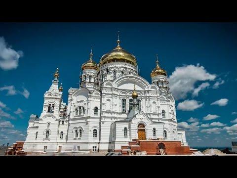 Белогорский монастырь, Пермь.  22 05 2014 Молитва Богородице. Гвадалахара