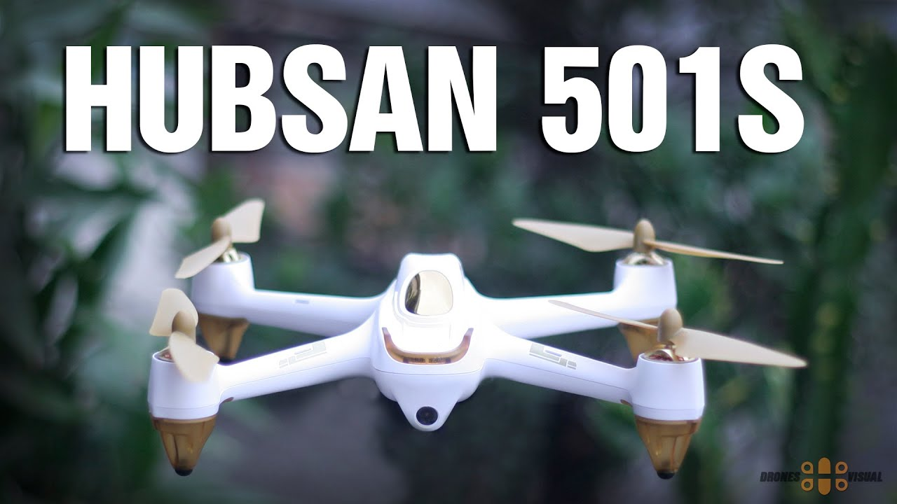 Hubsan H501S FPV Drone With GPS Review English