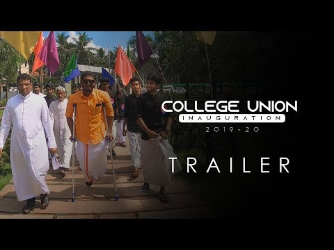 College Union Inauguration 2019-20 Trailer | Don Bosco Arts & Science Co...