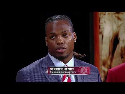 2015 Heisman Trophy Presentation - Derrick Henry (HD)