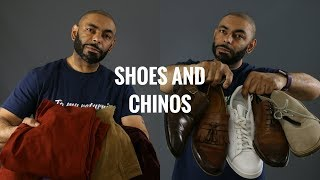5 Best Shoes To Wear With Chinos/ Top 5 Shoes To Match With Chinos