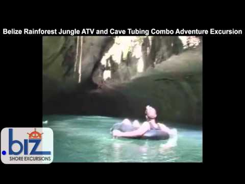 Belize Rainforest Jungle ATV And Cave Tubing Combo Adventure Excursion
