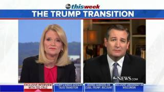 Ted Cruz Talks About the Death of Fidel Castro and More on ABC