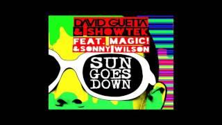 David Guetta & Showtek, Viduta ft. Magic! Sonny Wilson - Sun Goes Down (Damo MashUp) Mp3