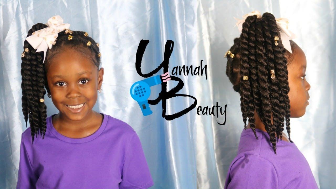 Yannah Crochet Ponytail Little Girls Hair Crochet Hairstyles Kids