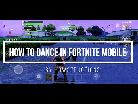 How To Dance In The Fortnite Mobile App