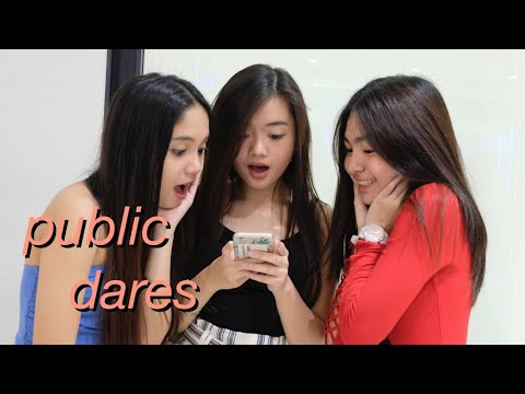 PUBLIC DARES WITH MY FRIENDS - EMBARRASSING!