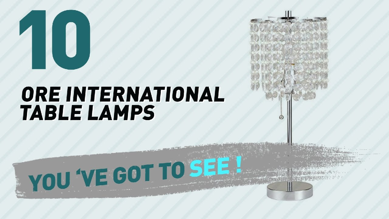 Ore International Table Lamps // New U0026 Popular 2017