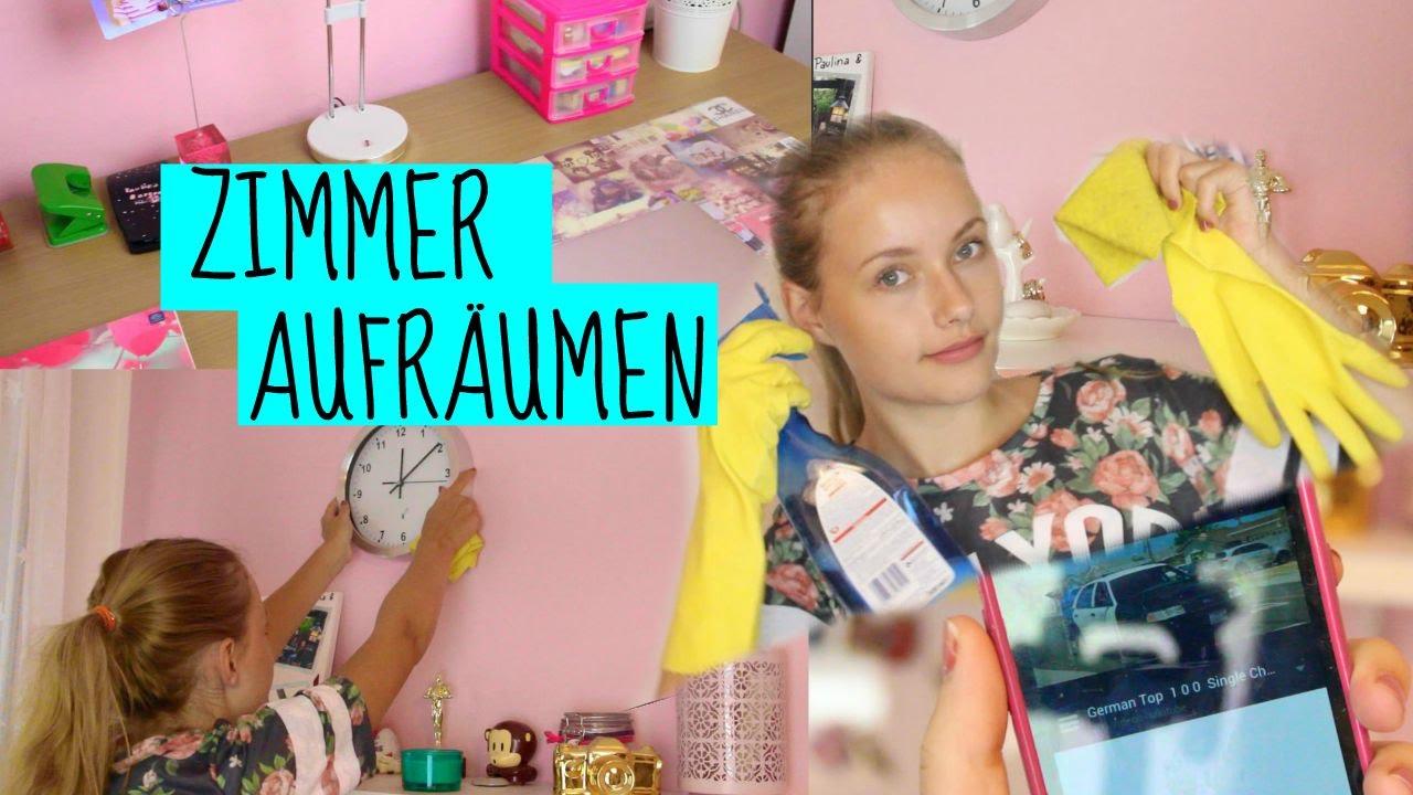 ZIMMER AUFRÄUMEN + TIPPS ♥ - YouTube