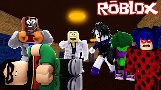 LADYBUG E JOVENS TIT-S SOFRERAM BULLYING - ROBLOX (Miraculous Ladybug Roleplay and Teen Titans Go!)