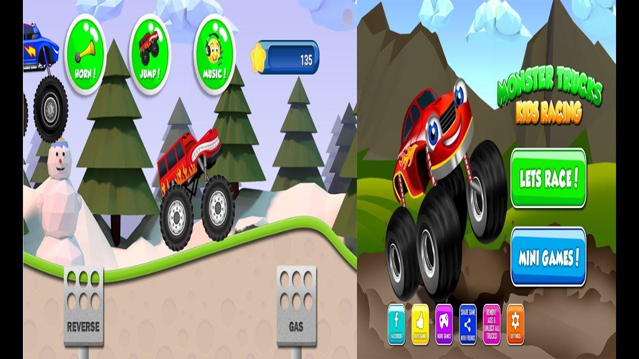Monster Trucks Game for Kids 2 | Kids Games | Monster ...