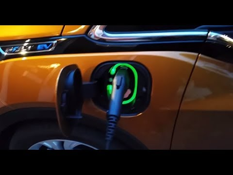 An Illuminated Charge Port A Tesla Like Upgrade For The Chevy Bolt