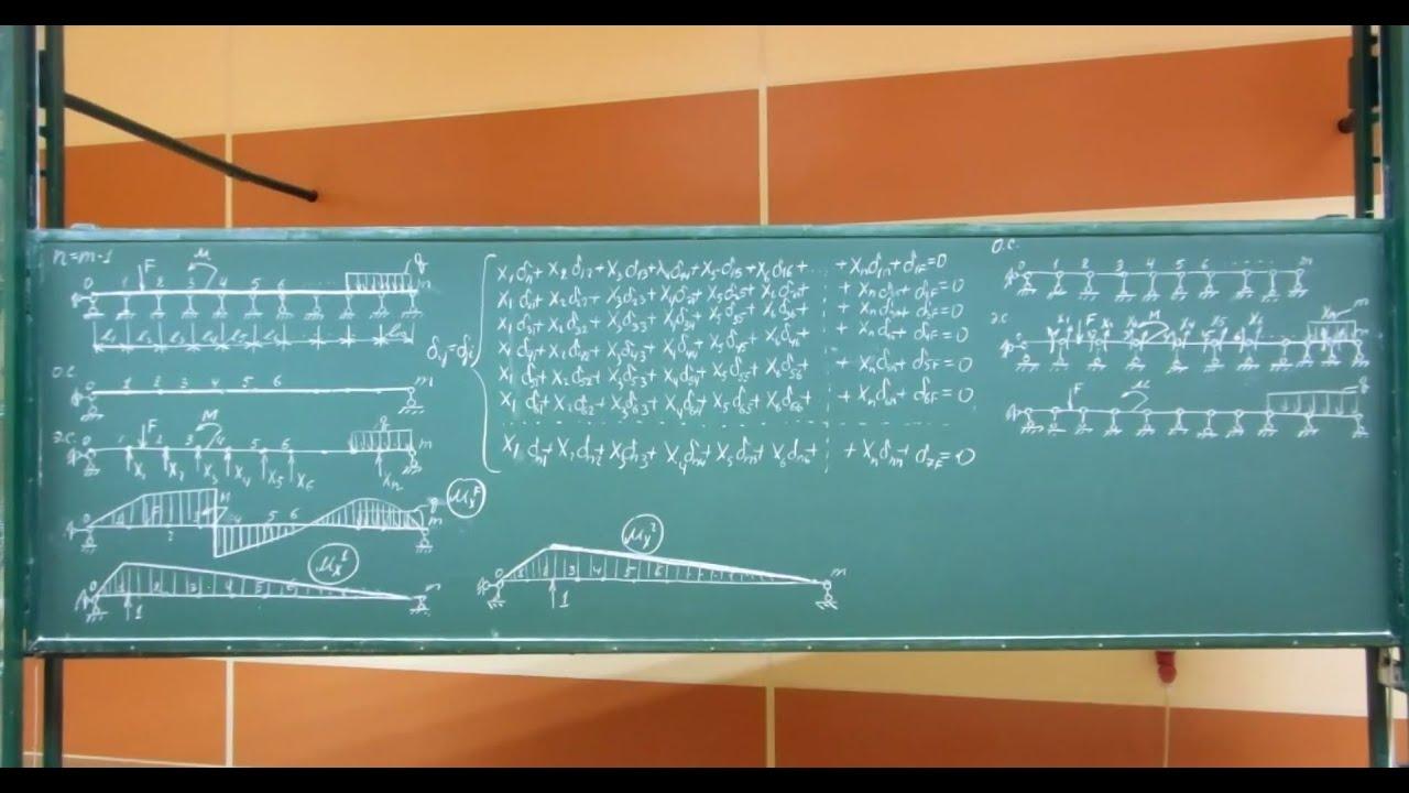 Решение задач по сопромату с врезанным шарниром решение задач по математ 4 класс