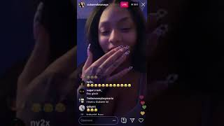 Cuban Doll On Instagram Live