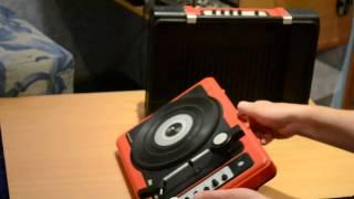 электрофон Лидер-306 часть 1