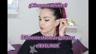 Delineado FÁCIL : Distintos Productos para hacer Eyeliner