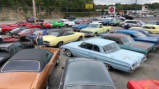 Classic Muscle Car Lot Maple Motors 8/24/19 Part 1