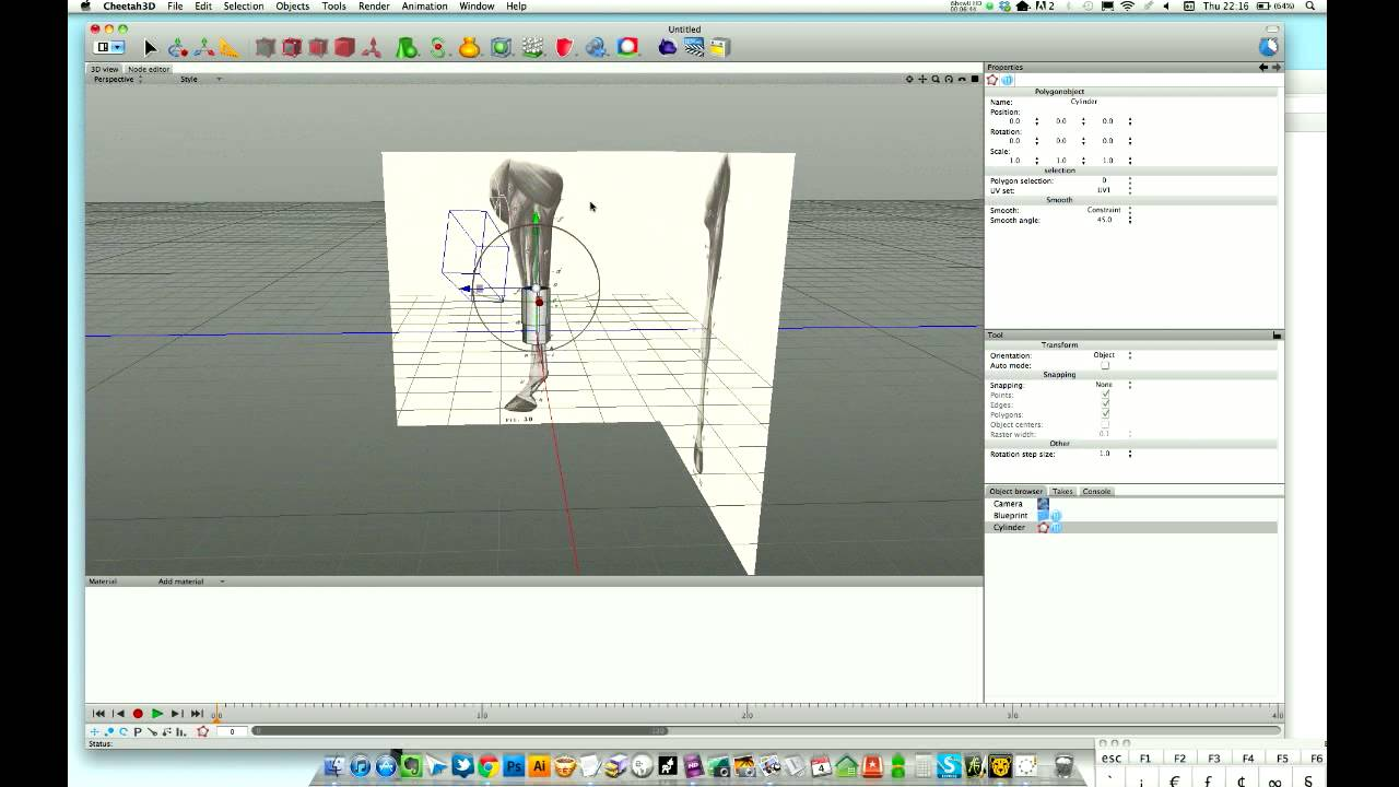 Cheetah3d tutorial using blueprints for accurate modelling youtube cheetah3d tutorial using blueprints for accurate modelling malvernweather Choice Image