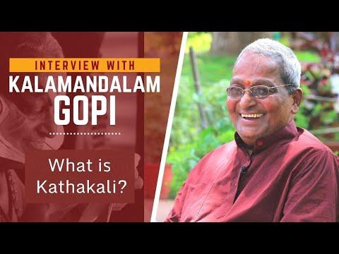 Kalamandalam Gopi on Kathakali