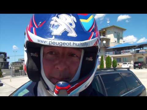 ifj. Tóth János, Janika vezeti a Rulettkerék Peugeot 205 GTI-t
