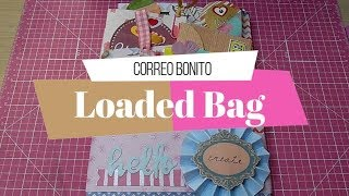 Correo Bonito | Loaded Bag + Mini Pocket letter | Yoltzin handmade