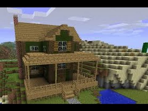 Minecraft building a farm house 1 youtube for Building a farmhouse
