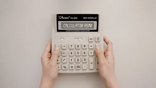 🌜ASMR 계산기 두드리는 소리 Only button sounds of calculator | typing, texting, no talking, 노토킹