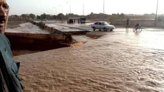 فيضان واد بتمنراست بعد هطول أمطار غزيرة  يسبب خسائر مادية لسكان المنطقة وتجار